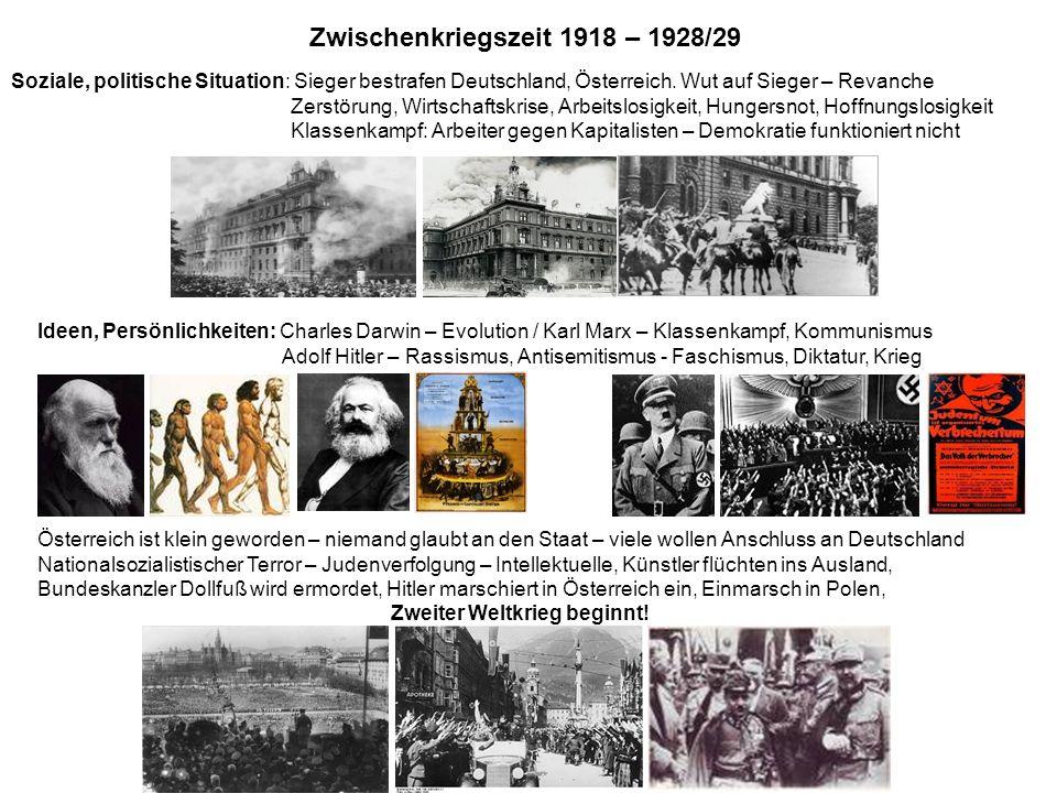 Zwischenkriegszeit 1918 – 1928/29