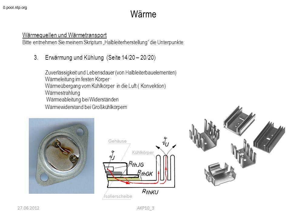 Wärme Wärmequellen und Wärmetransport