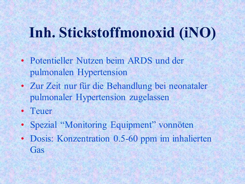 Inh. Stickstoffmonoxid (iNO)