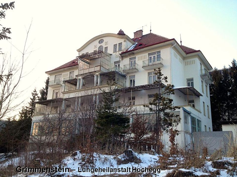Grimmenstein – Lungeheilanstalt Hochegg