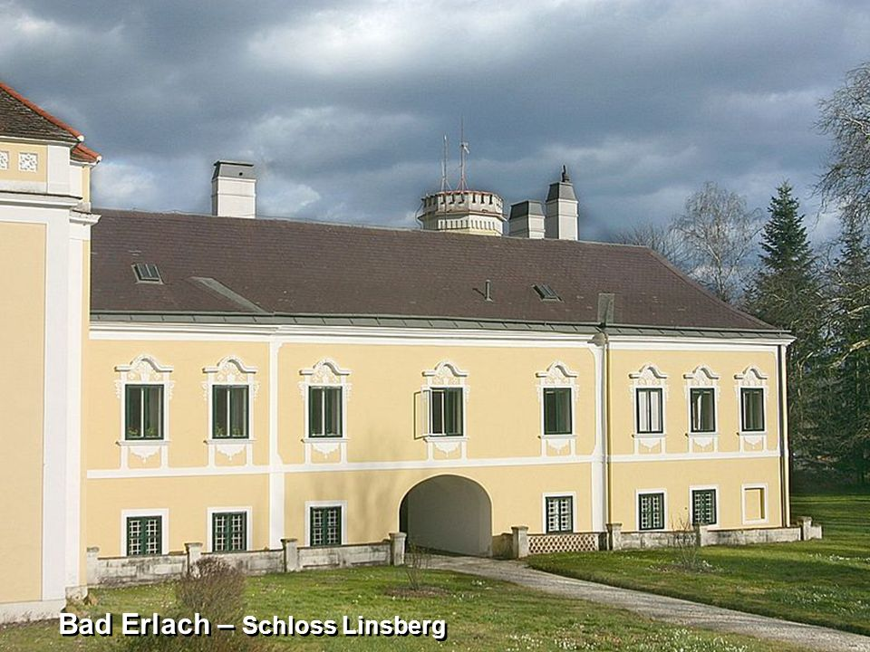 Bad Erlach – Schloss Linsberg