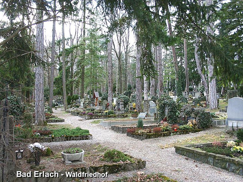 Bad Erlach - Waldfriedhof