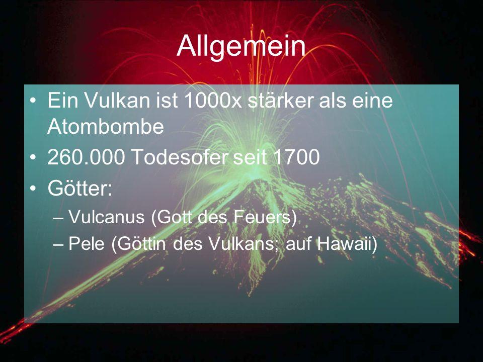 Allgemein Ein Vulkan ist 1000x stärker als eine Atombombe