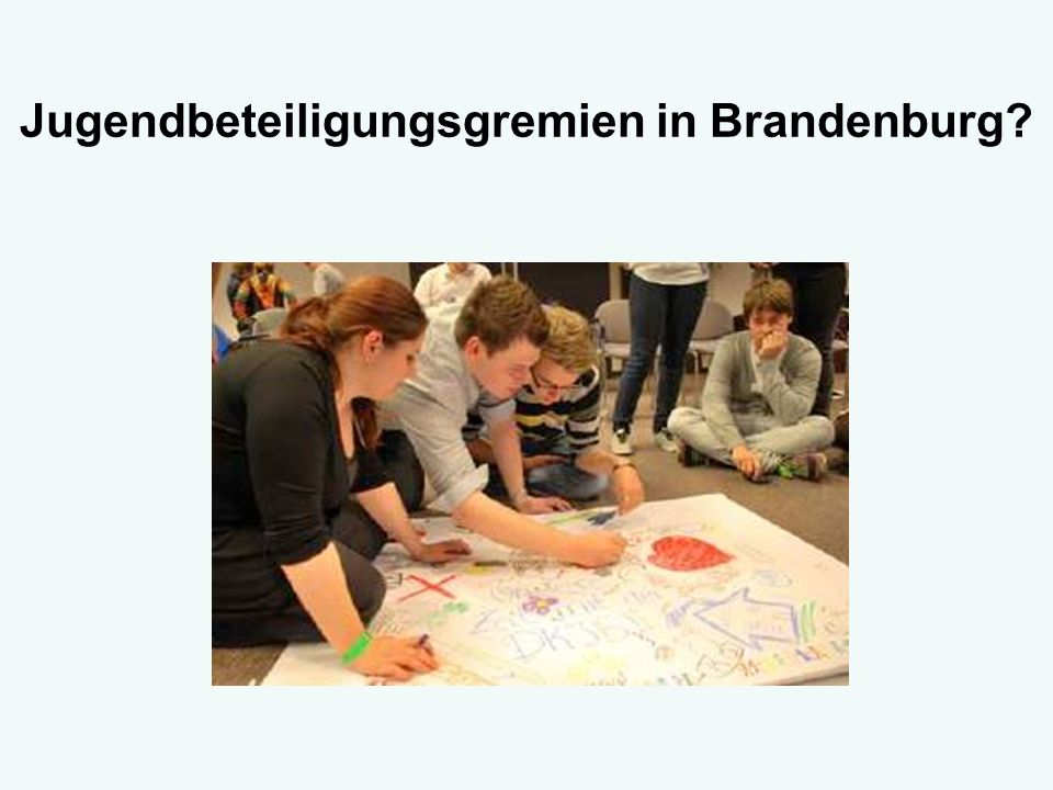Jugendbeteiligungsgremien in Brandenburg
