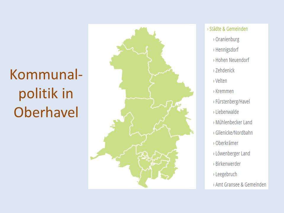 Kommunal-politik in Oberhavel