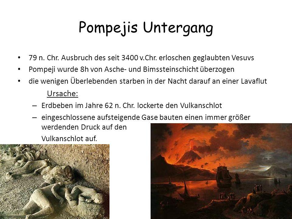 Pompejis Untergang Ursache: