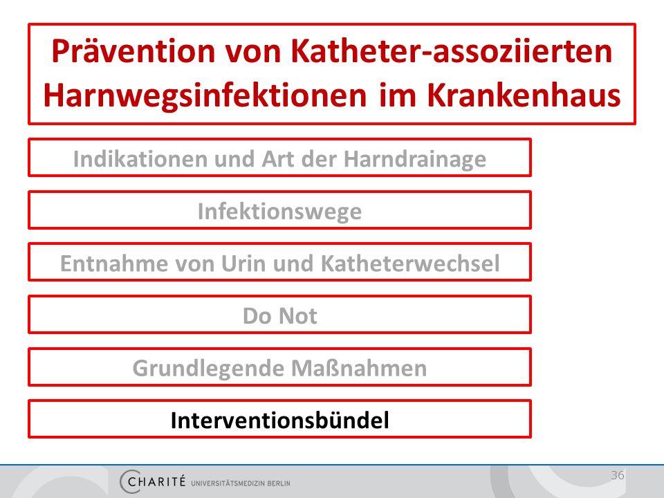 Interventionsbündel = Implementierung von