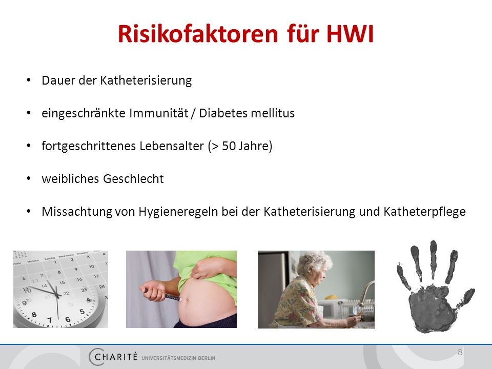 Risikofaktoren für HWI