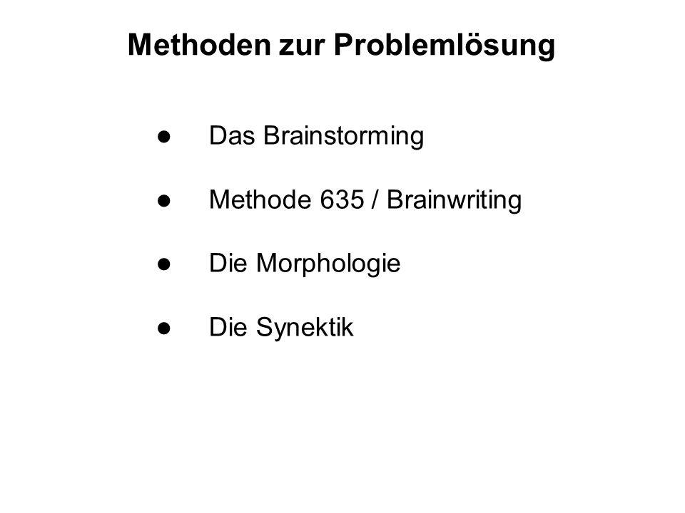 Methoden zur Problemlösung