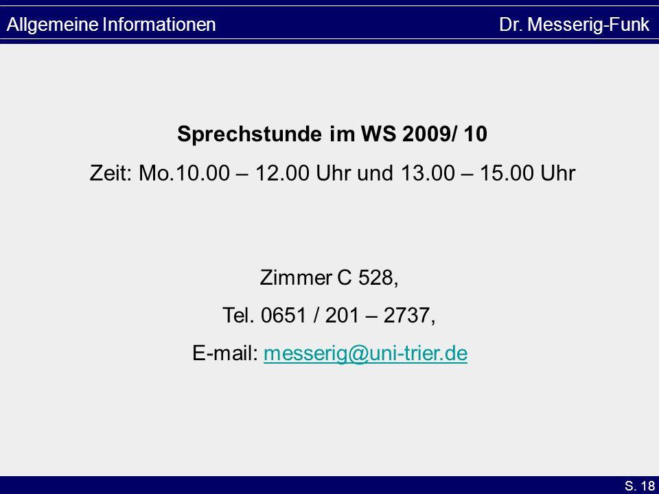 E-mail: messerig@uni-trier.de