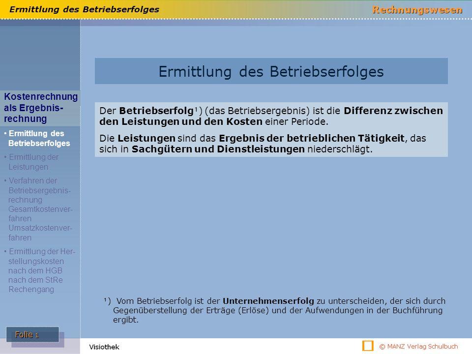 Ermittlung Des Betriebserfolges Ppt Video Online Herunterladen