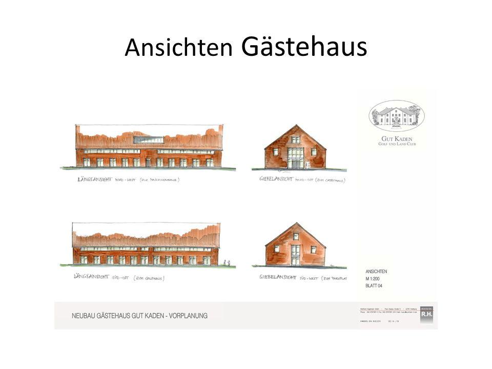 Ansichten Gästehaus