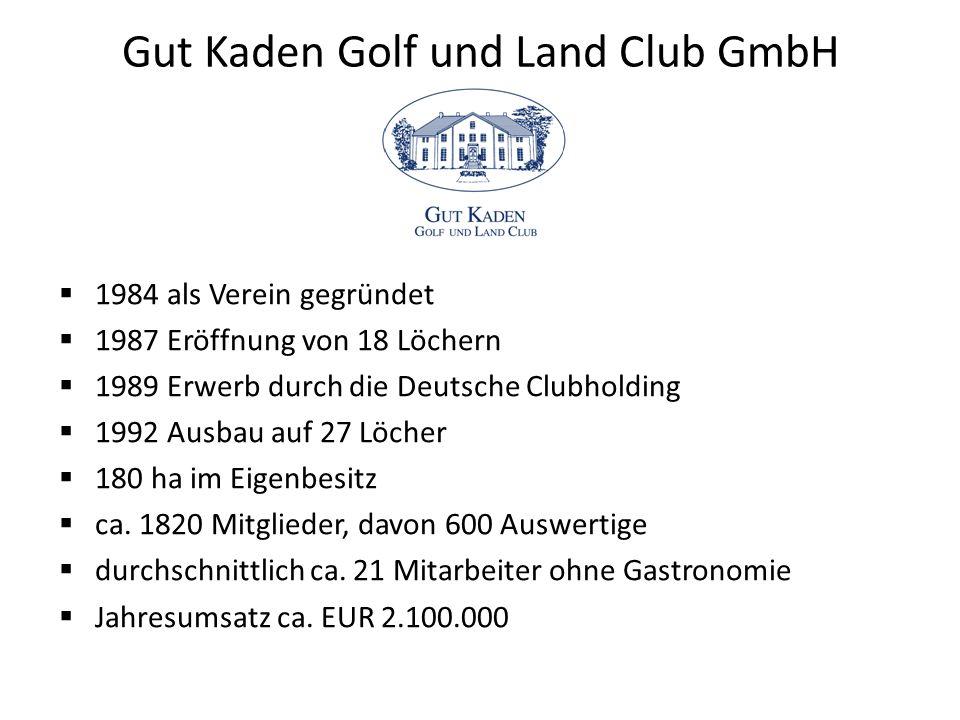 Gut Kaden Golf und Land Club GmbH
