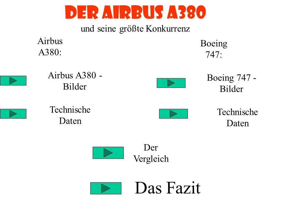 Der Airbus A380 und seine größte Konkurrenz