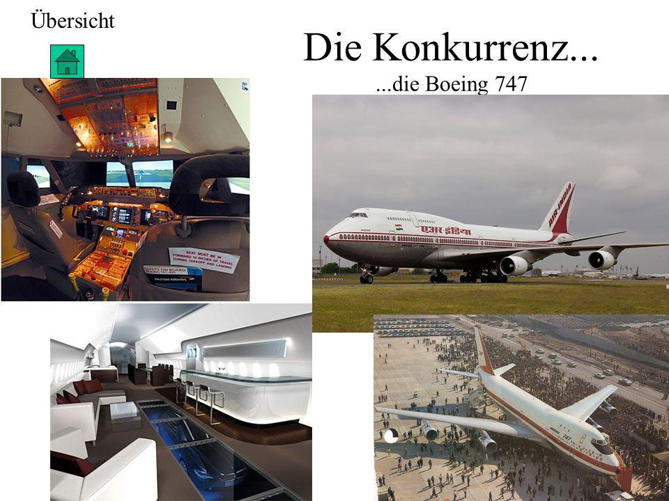 Die Konkurrenz... ...die Boeing 747