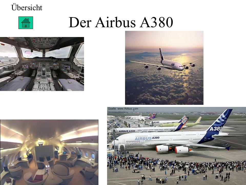 Übersicht Der Airbus A380