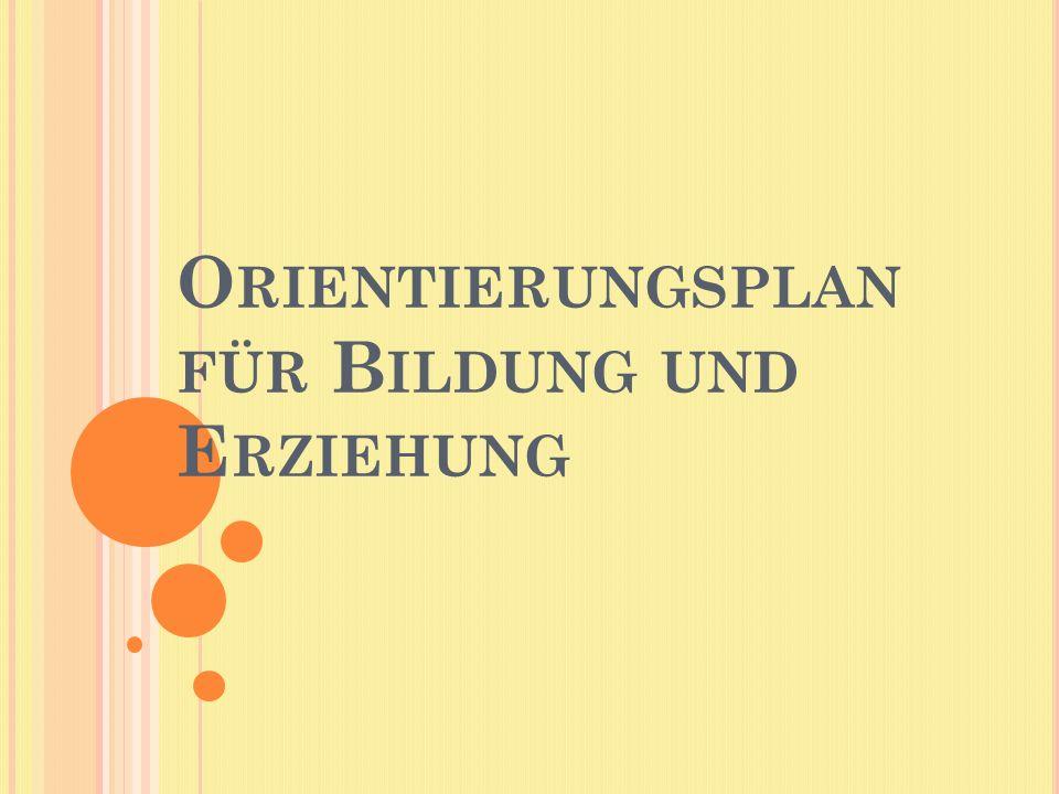 Orientierungsplan für Bildung und Erziehung