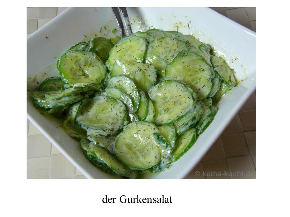 der Gurkensalat
