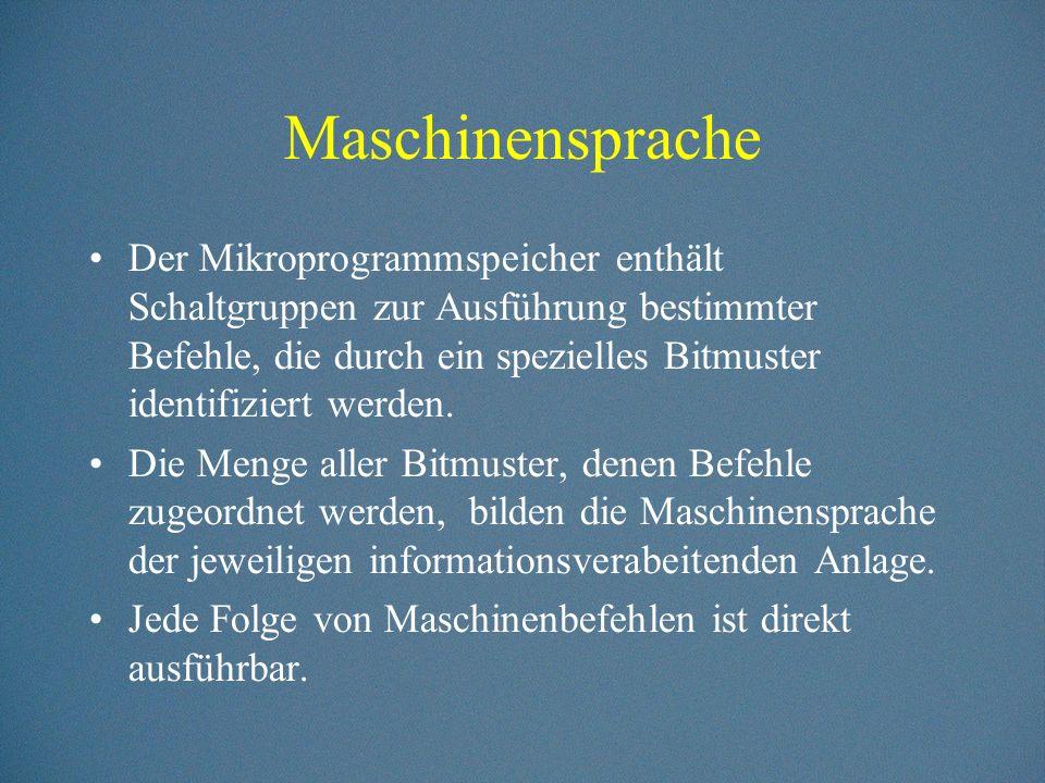 Maschinensprache