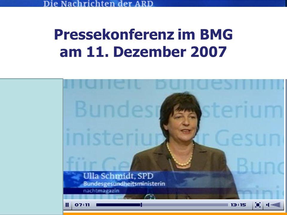 Pressekonferenz im BMG