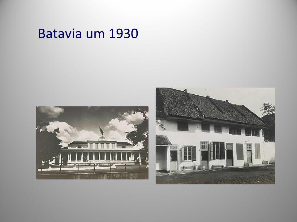 Batavia um 1930