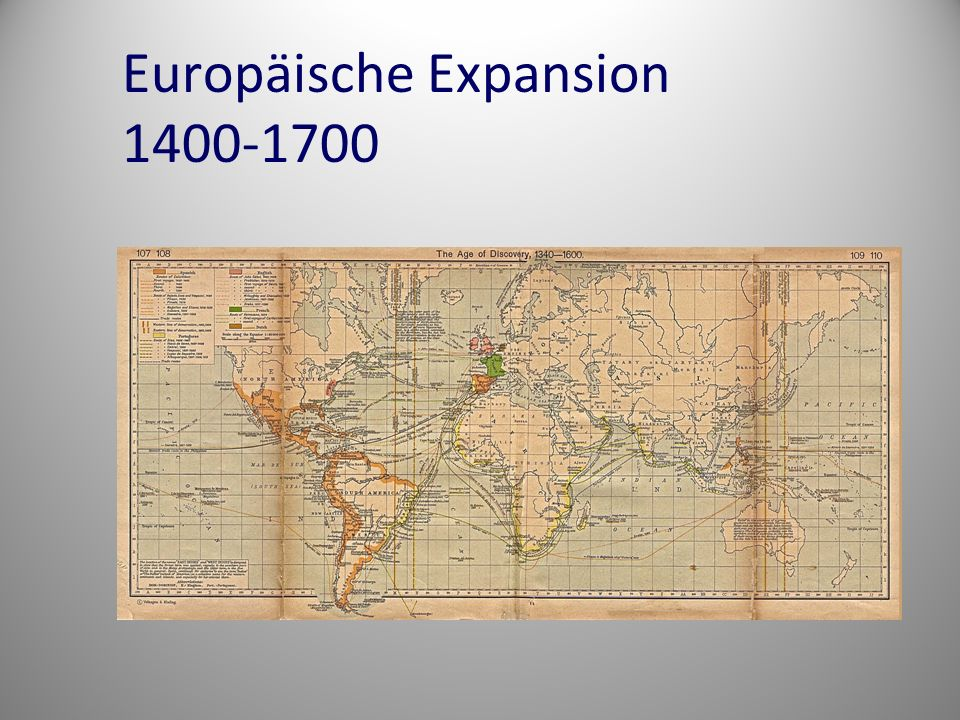 Europäische Expansion 1400-1700