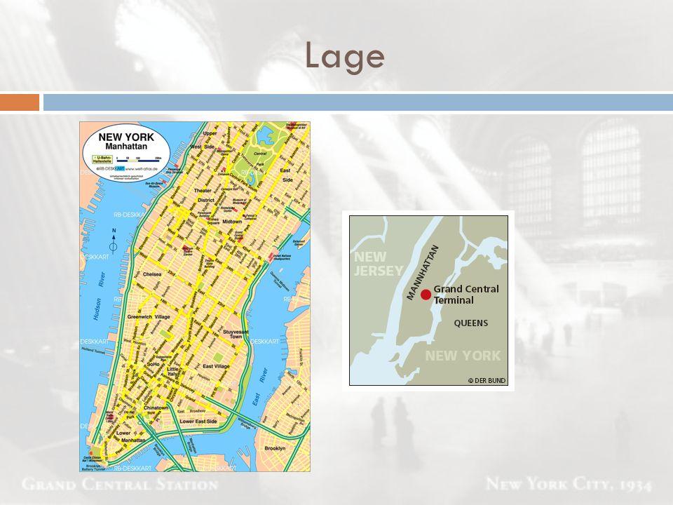 Lage Ob auf dem Weg zum Central Park, dem Metropolitan Museum of Art oder dem Broadway, der Grand.