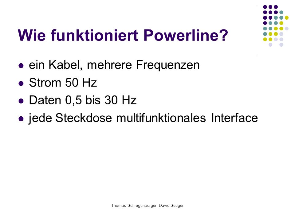 Wie funktioniert Powerline