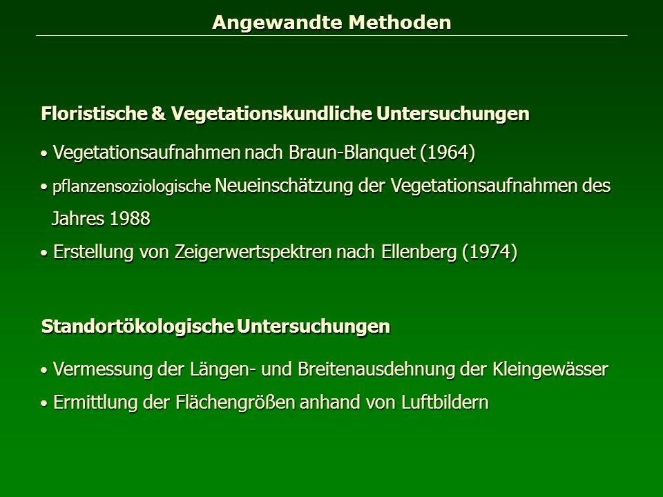 Floristische & Vegetationskundliche Untersuchungen