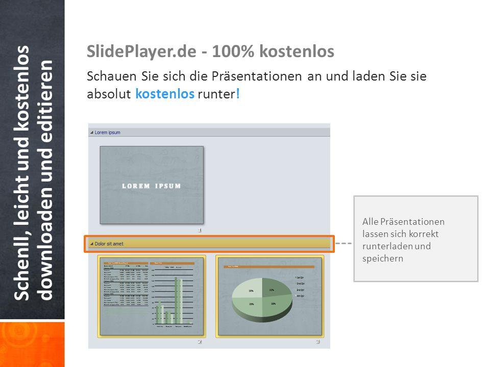 Schenll, leicht und kostenlos downloaden und editieren