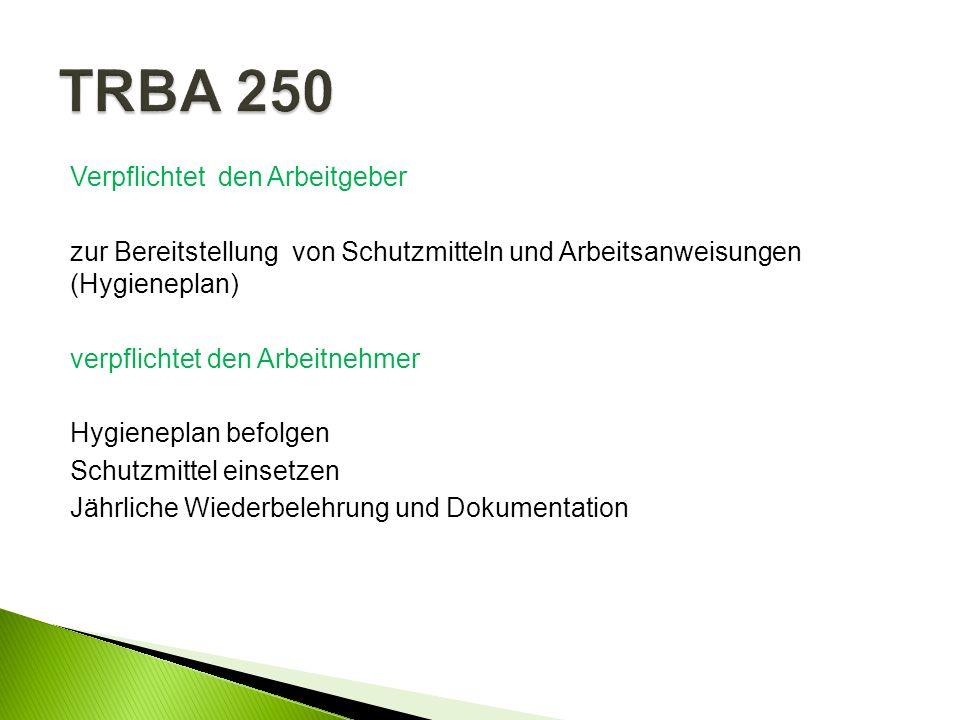 TRBA 250