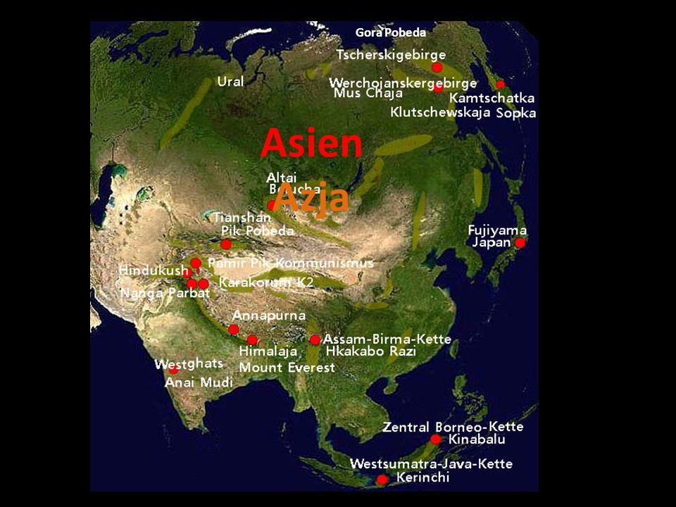 Gora Pobeda Asien Azja