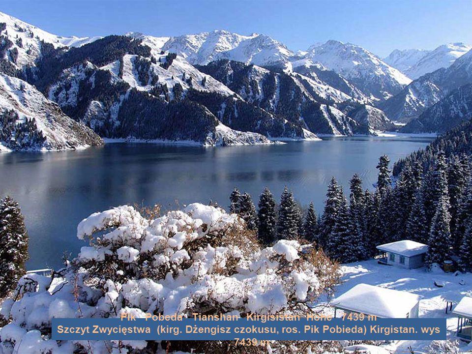 Pik Pobeda Tianshan Kirgisistan Höhe 7439 m Szczyt Zwycięstwa (kirg