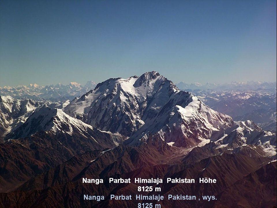Nanga Parbat Himalaja Pakistan Höhe 8125 m Nanga Parbat Himalaje Pakistan , wys. 8125 m