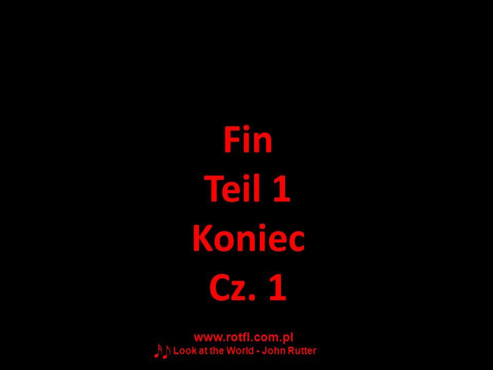 Fin Teil 1 Koniec Cz. 1 www.rotfl.com.pl