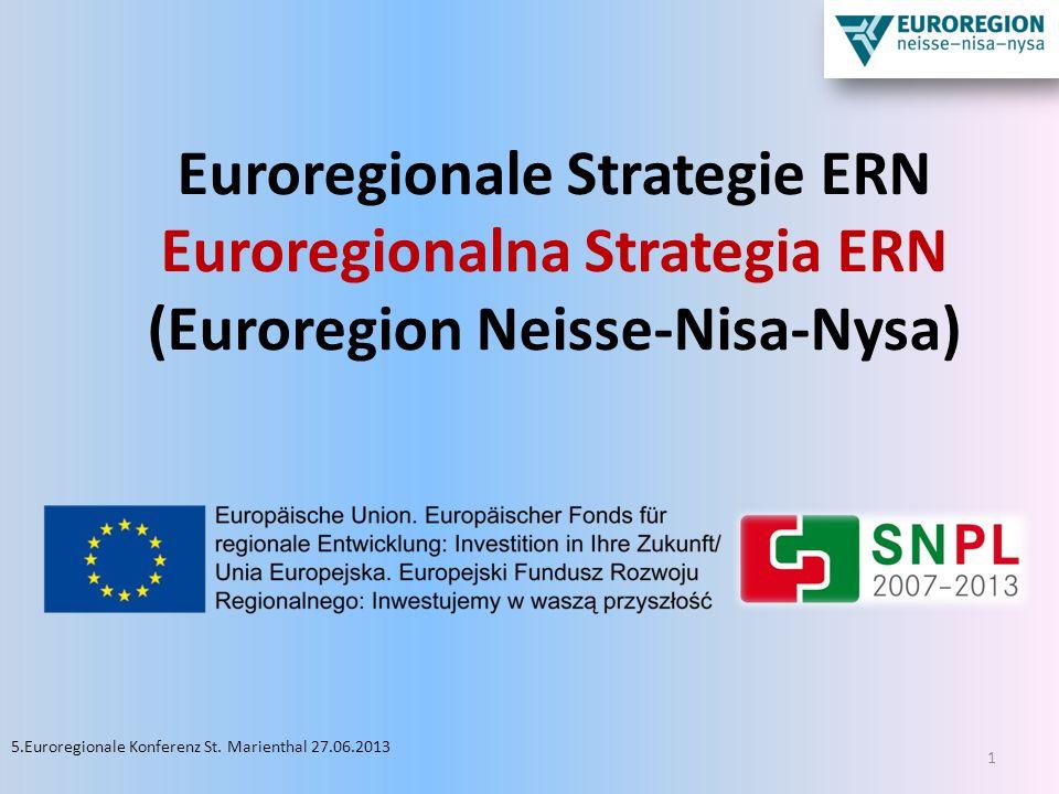 Euroregionale Strategie ERN Euroregionalna Strategia ERN (Euroregion Neisse-Nisa-Nysa)