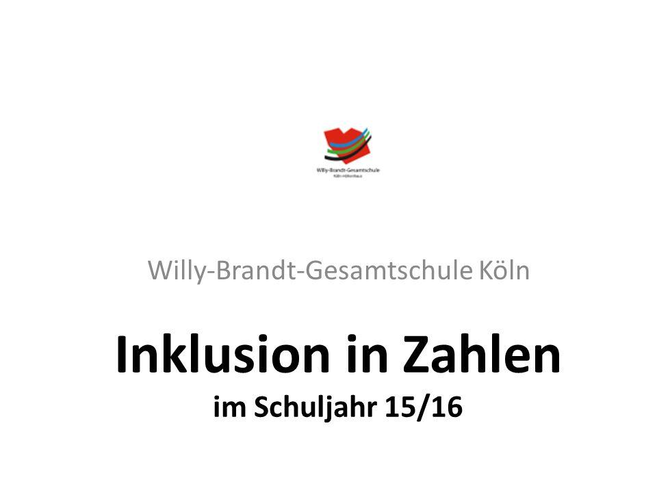 Allgemeines Die Willy-Brandt-Gesamtschule hat 1350 Schülerinnen und Schüler. Davon besuchen 1000 die Sekundarstufe I.