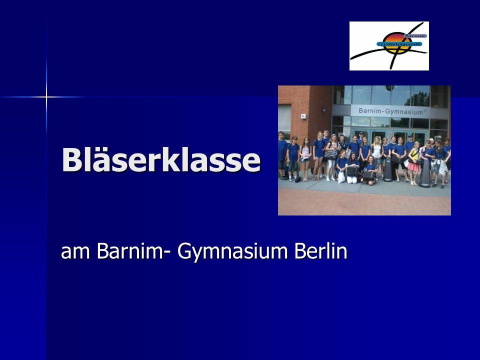 am Barnim- Gymnasium Berlin
