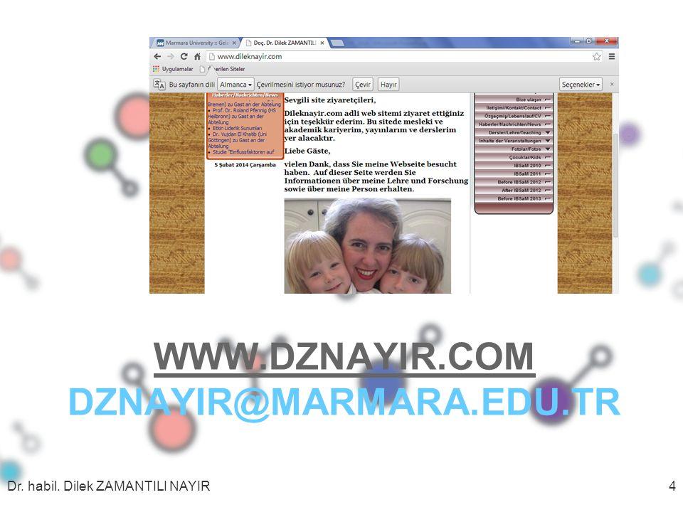 www.dznayir.com dznayir@marmara.edu.tr