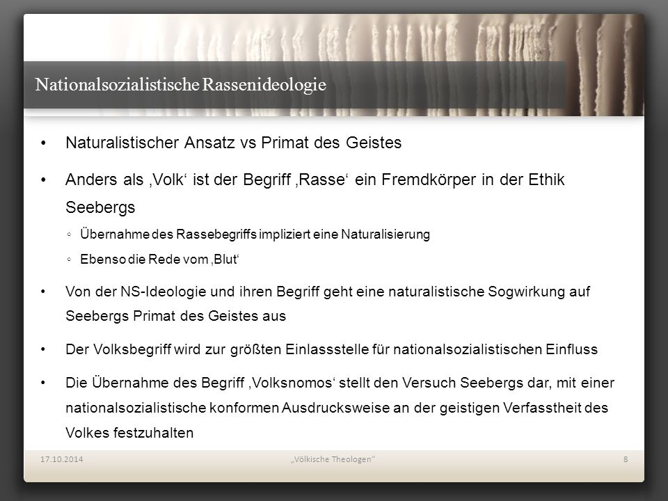 """Völkische Theologen"