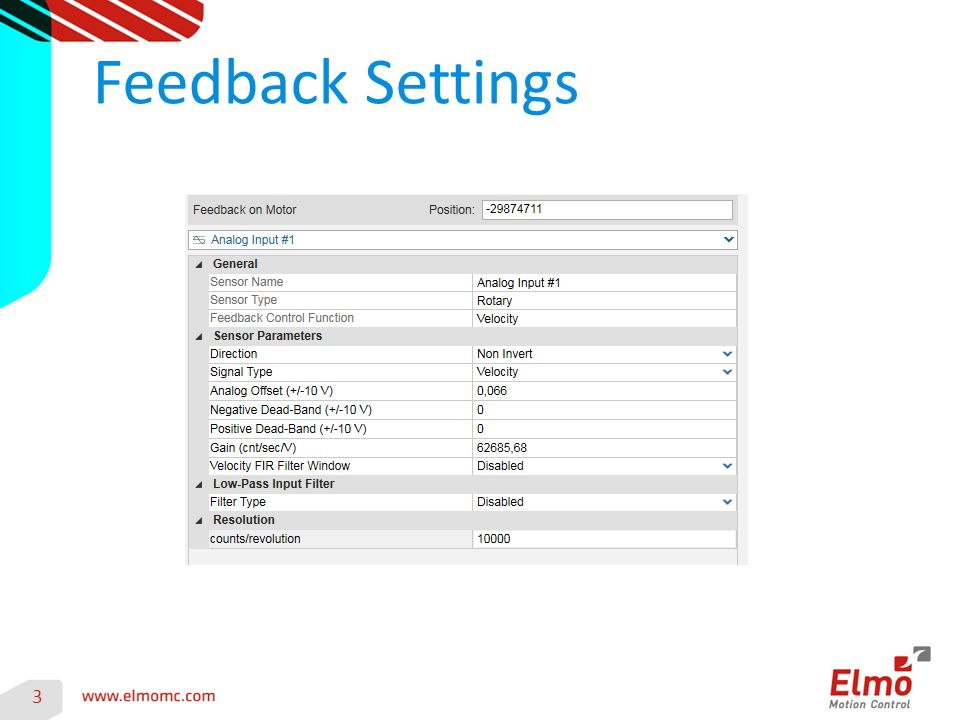 Feedback Settings 3