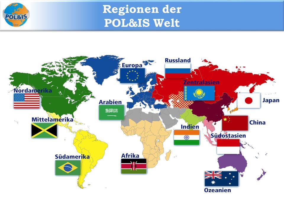 Regionen der POL&IS Welt