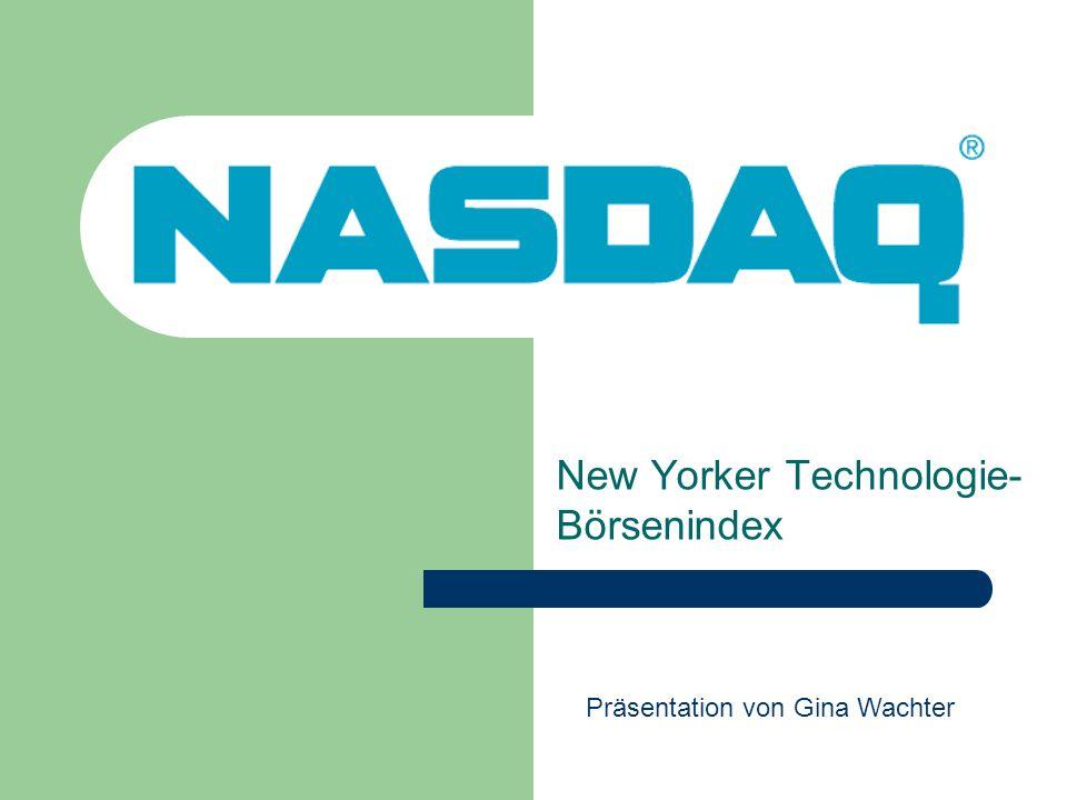 New Yorker Technologie-Börsenindex