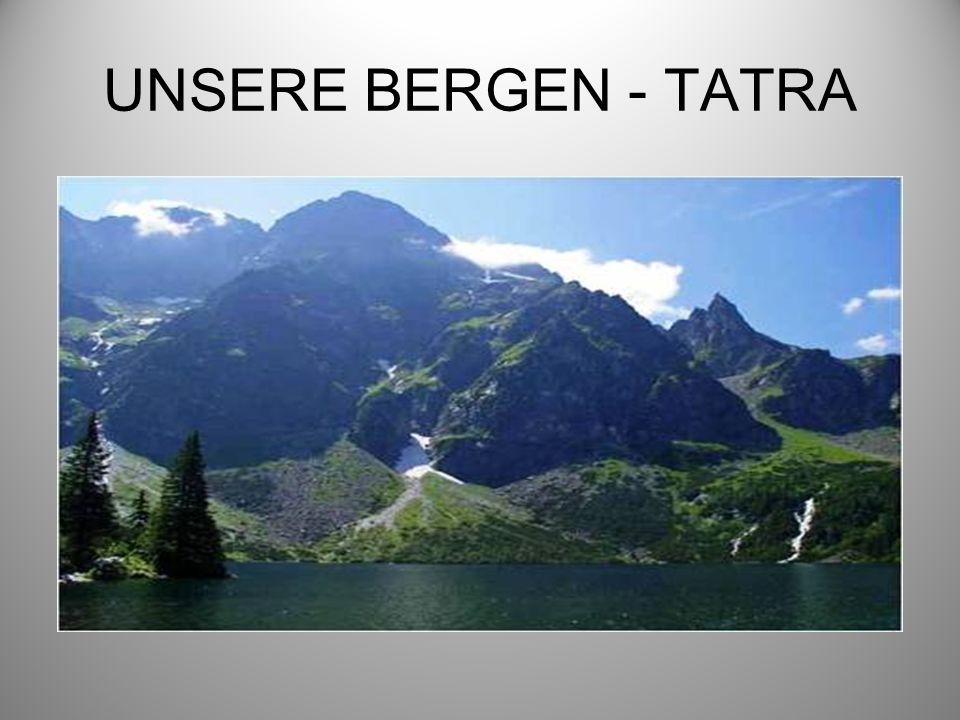 UNSERE BERGEN - TATRA
