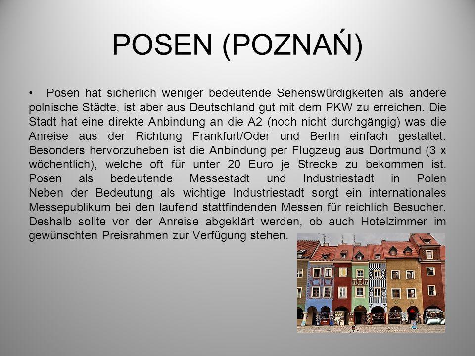 POSEN (POZNAŃ)
