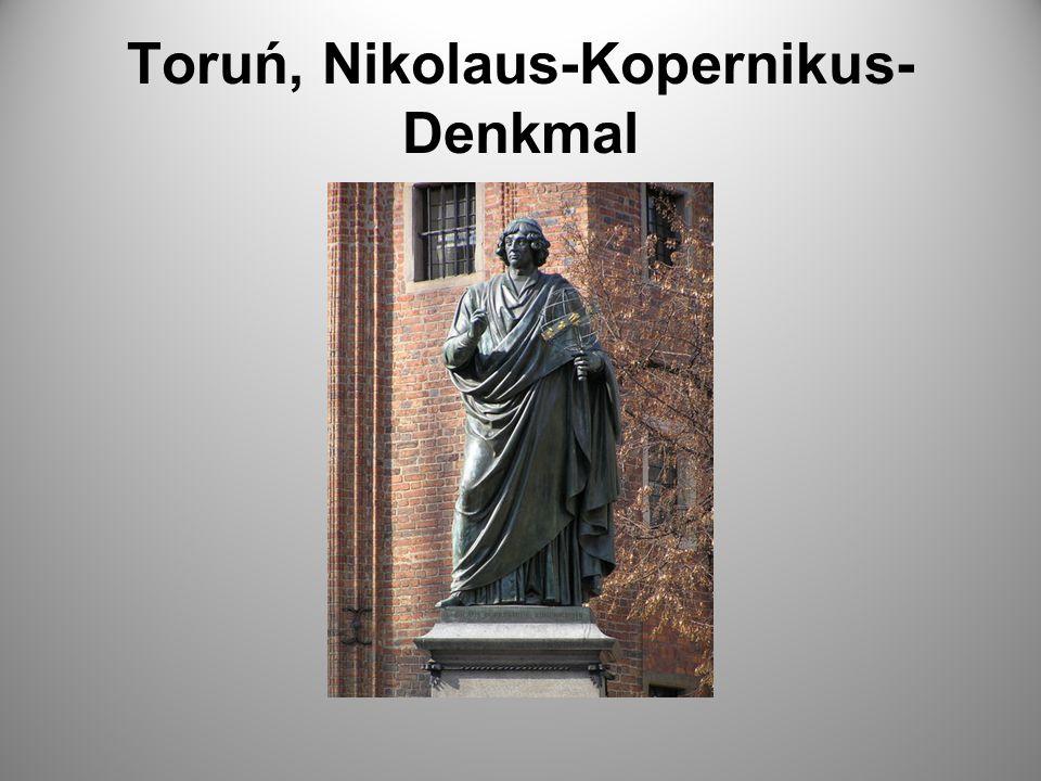 Toruń, Nikolaus-Kopernikus-Denkmal