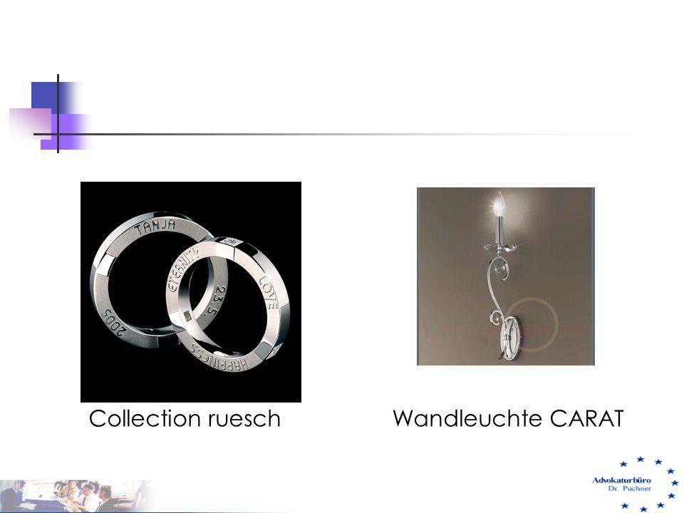 Collection ruesch Wandleuchte CARAT 29.05.01 e-commerce