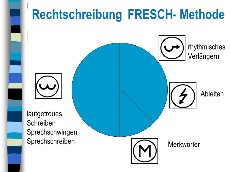 Rechtschreibung FRESCH- Methode