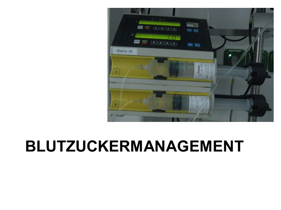 Blutzuckermanagement