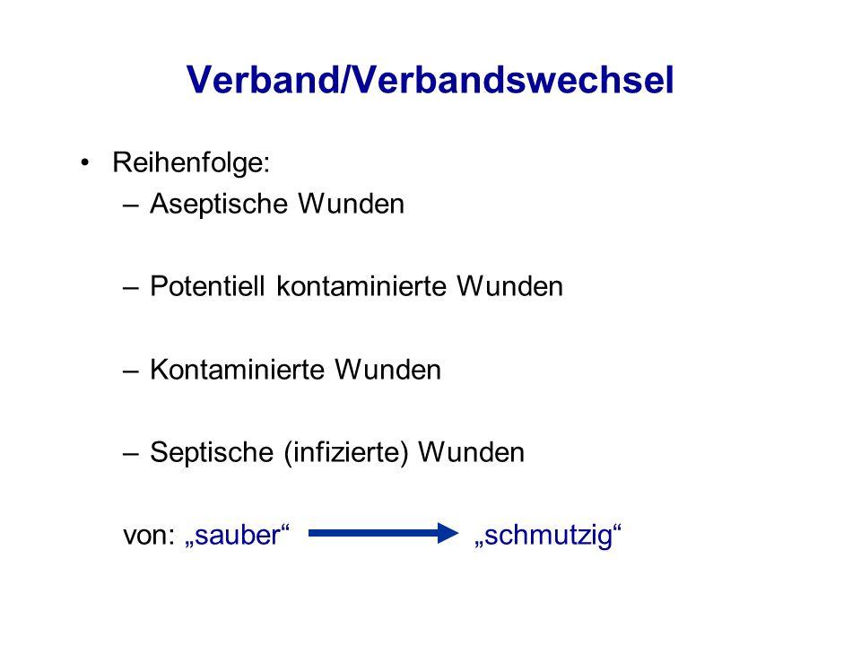 Verband/Verbandswechsel